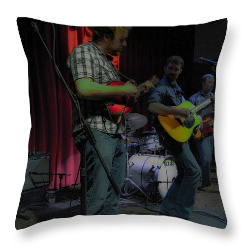 Throw Pillow featuring the photograph H2 by Wanda J King