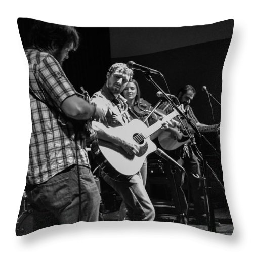 Throw Pillow featuring the photograph H3 by Wanda J King