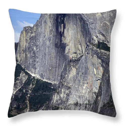Half Dome Throw Pillow featuring the photograph Half Dome by Paul W Faust - Impressions of Light