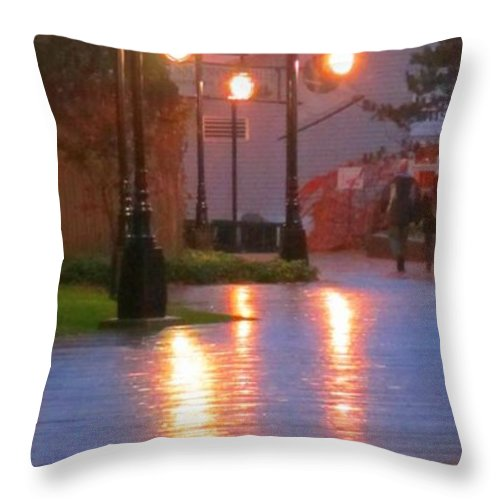 Halifax Romance Images Throw Pillow featuring the photograph Halifax Romance by John Malone Halifax Photographer