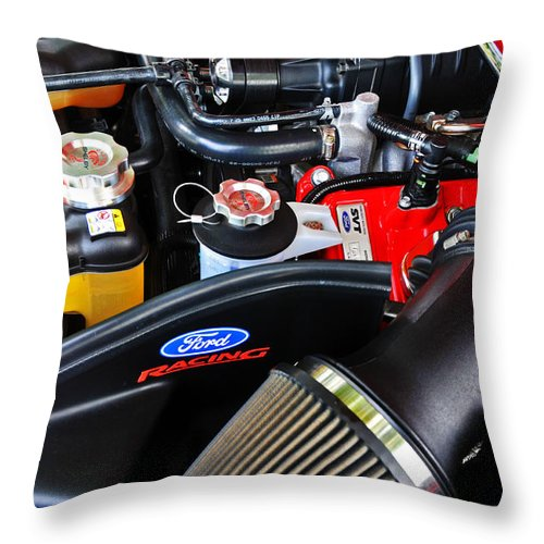 Car Throw Pillow featuring the photograph Hand Built With Pride by Mike Martin