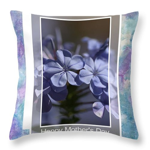 Happy Mother's Day Throw Pillow featuring the photograph Happy Mother's Day by Joy Watson