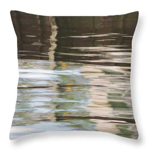 Harbor Throw Pillow featuring the photograph Harbor Impressions 3 by Shawna Rowe