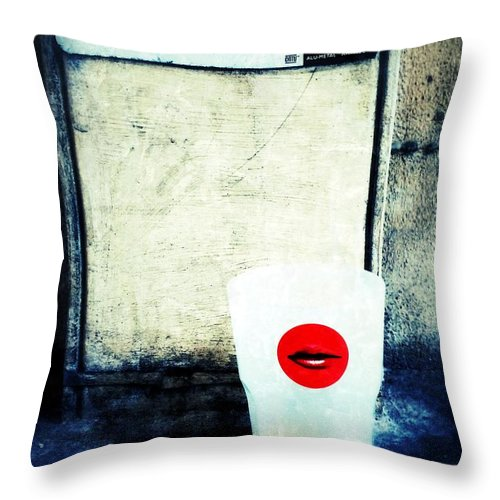 Haute Tension Throw Pillow featuring the photograph Haute Tension by Julian Darcy
