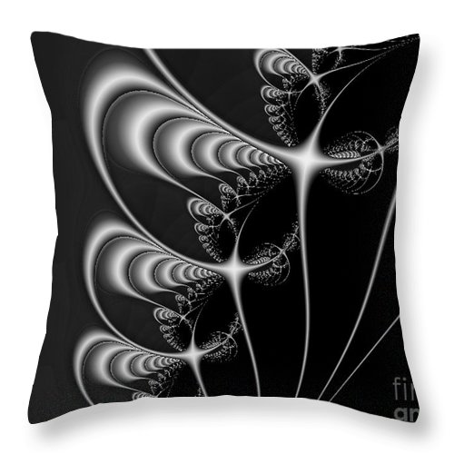 2-dimensional Throw Pillow featuring the digital art The Grapevine by Dana Haynes
