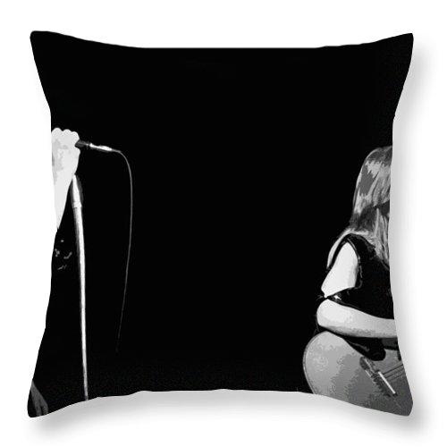 Heart Throw Pillow featuring the photograph Heart #56a by Ben Upham