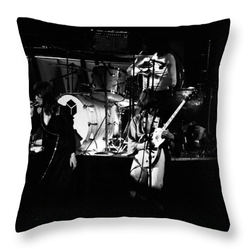 Classic Rock Throw Pillow featuring the photograph Heart #7 by Ben Upham