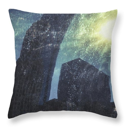 America Throw Pillow featuring the photograph Heat Of The Sun by Margie Hurwich