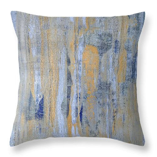 Heaven Throw Pillow featuring the painting Heaven's Gate 1 by Julie Niemela