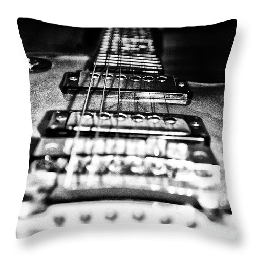 Heavy Metal Throw Pillow featuring the photograph Heavy Metal by Bill Cannon