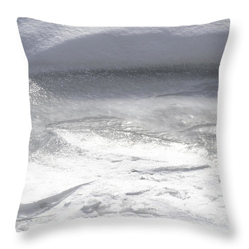Natural World Throw Pillow featuring the photograph Heavy Textures by Urbanmoon Photography