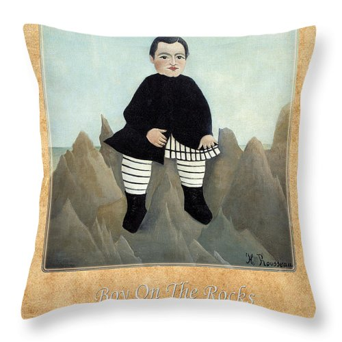 Henri Rousseau Throw Pillow featuring the photograph Henri Rousseau 1 by Andrew Fare