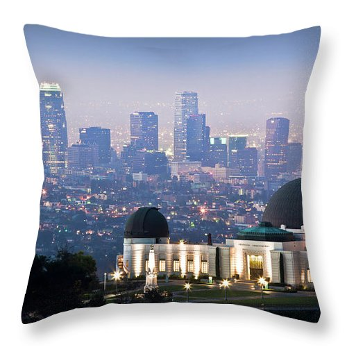 Downtown District Throw Pillow featuring the photograph Higher Ground by Andrew Kennelly
