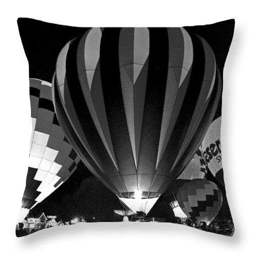 Hot Throw Pillow featuring the photograph Hillsboro 003 by Jeff Stallard