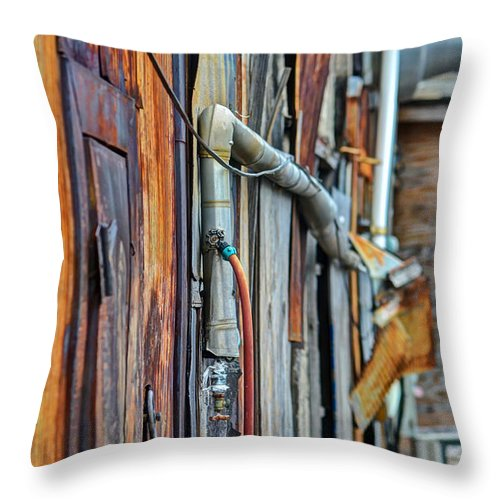 2014 Throw Pillow featuring the photograph Hoboken After Sandy by PatriZio M Busnel
