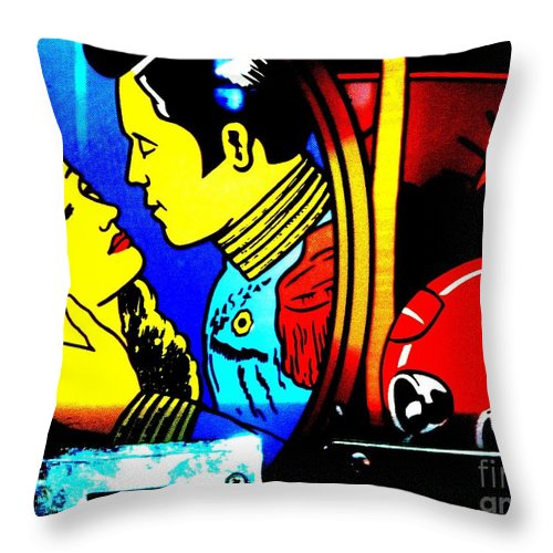 Newel Hunter Throw Pillow featuring the photograph Hollywood2 by Newel Hunter