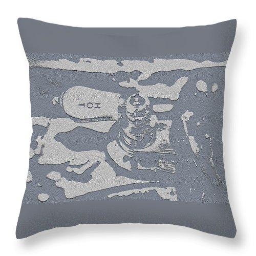 Hot Water Throw Pillow featuring the photograph Hot Water by Bill Owen