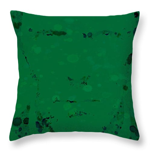 Hugh Laurie Throw Pillow featuring the digital art House by Brian Reaves