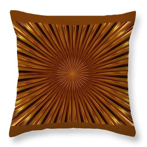 Fractal Throw Pillow featuring the photograph Hypnosis by David Dunham