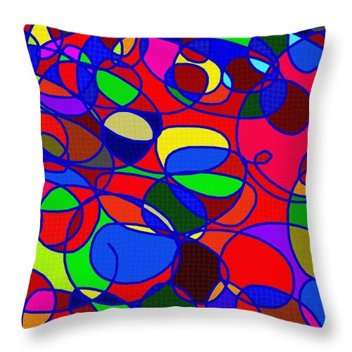 Digital Throw Pillow featuring the photograph I by Christopher Rowlands
