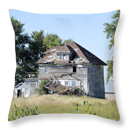 Pieces Throw Pillow featuring the photograph I Fall To Pieces by Bonfire Photography