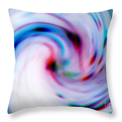 Subconscious Throw Pillow featuring the digital art Idea by Nelson Osorio