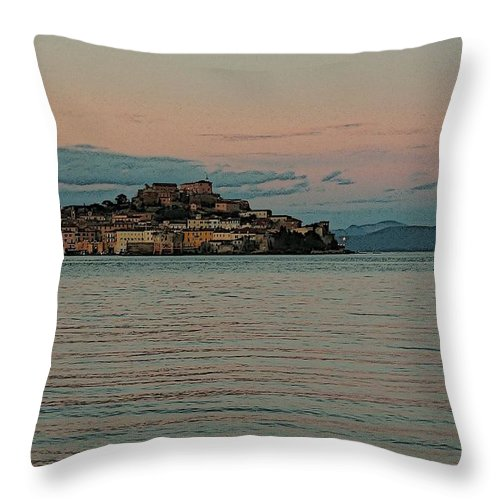 Elba Throw Pillow featuring the photograph If I Ever Had by Gluca Pagnini