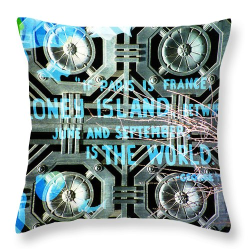 Flowers Throw Pillow featuring the photograph If Paris Is France... by Rosie McCobb