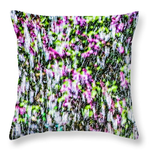 Impressionism Throw Pillow featuring the photograph Impressions Of Spring 2 by Alexander Senin
