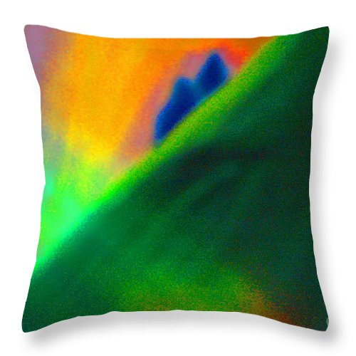 First Star Art Throw Pillow featuring the mixed media In Love by First Star Art