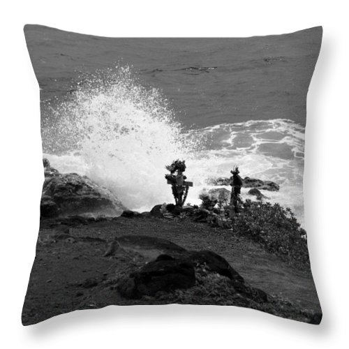 Memory Throw Pillow featuring the photograph In Memory by Jo Jurkiewicz