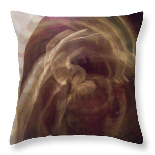 In The Light2 Throw Pillow featuring the digital art In The Light2 by D Preble