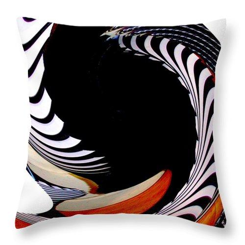 Modern Art Throw Pillow featuring the photograph Infinity Dancer 8 by Cj Carroll