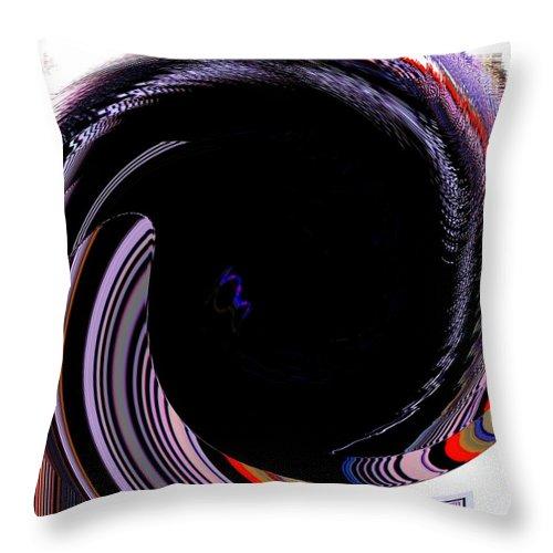 Modern Art Throw Pillow featuring the photograph Infinity Mask 1 by Cj Carroll