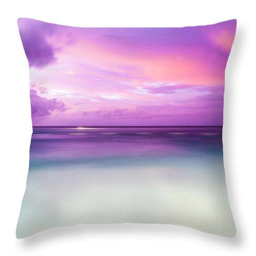 Scenics Throw Pillow featuring the photograph Infinity Pool, Uluwatu, Bali by John Harper