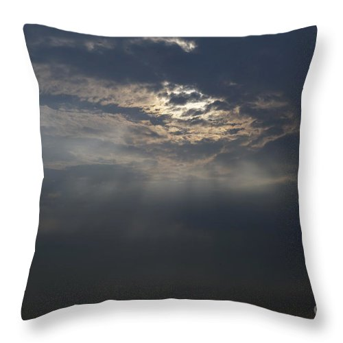 Sunrise Throw Pillow featuring the photograph Inspiration by Elaine Mikkelstrup