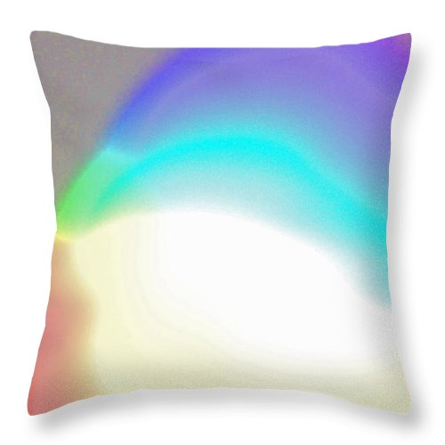 First Star Art Throw Pillow featuring the photograph Into One by First Star Art