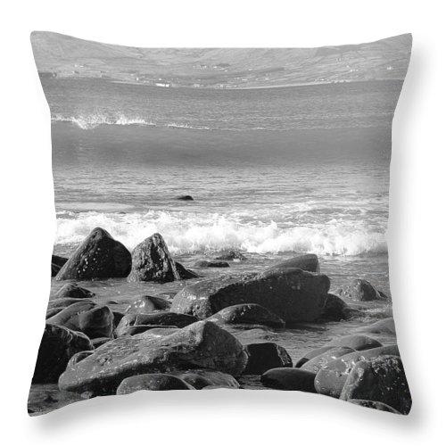 Ireland Throw Pillow featuring the photograph Irish Coast by Tiffany Erdman