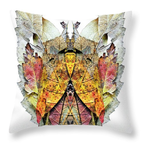Dimoniet-lutin-kobold-gnome-goblin-imp- Gremlin.......??? Throw Pillow featuring the photograph Isaosam by Luc Bovet