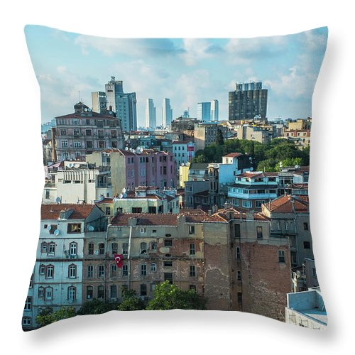 Tranquility Throw Pillow featuring the photograph Istanbul by Picture By Hamoon Nasiri