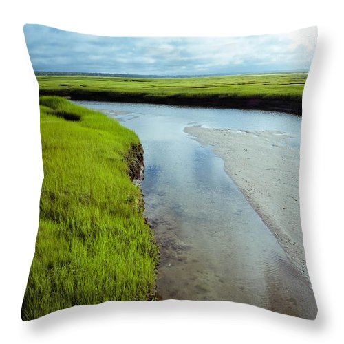 Cape Cod Throw Pillow featuring the photograph It Is Round... by Zina Zinchik