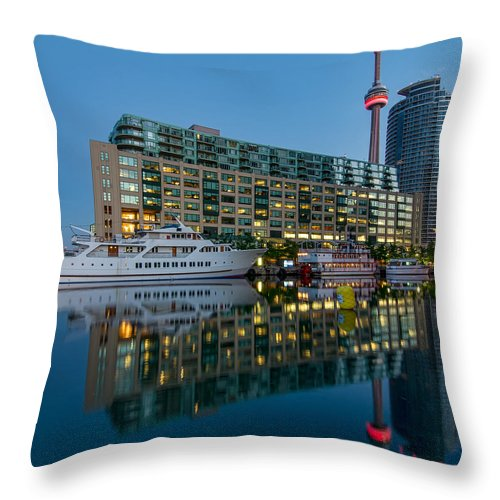 Boat Throw Pillow featuring the photograph It Was Like This by James Wheeler