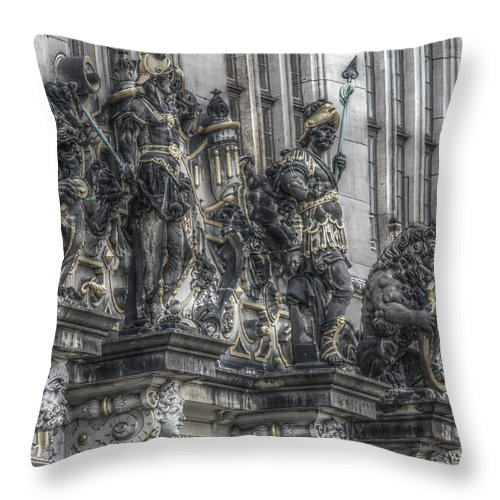House Throw Pillow featuring the photograph Its Own Little History by Four Hands Art