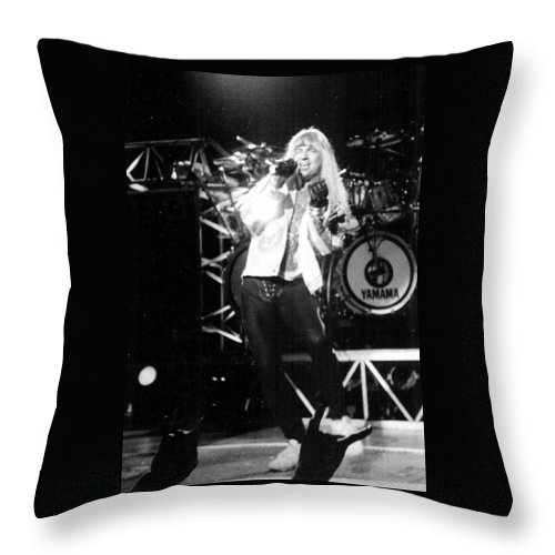 Great White Throw Pillow featuring the photograph Jack Russell by Sheryl Chapman Photography