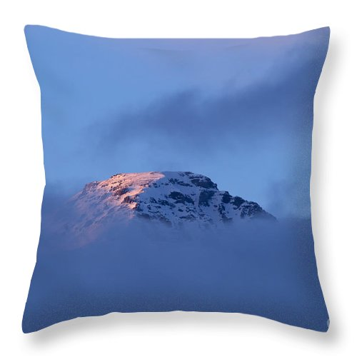 Jim Mountain Throw Pillow featuring the photograph Jim Mountain  #1914 by J L Woody Wooden