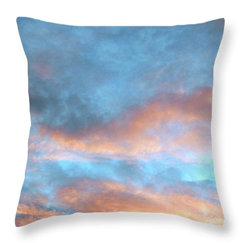 Awesome Throw Pillow featuring the photograph Just Amazing Sky by Belinda Lee