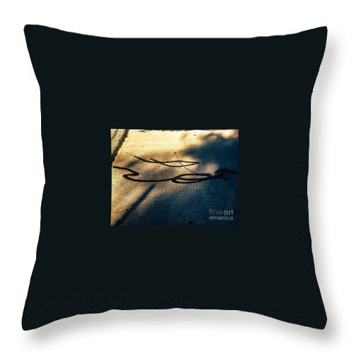 Urban Throw Pillow featuring the photograph Just Another Day by Fei A