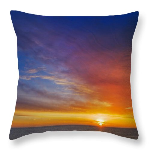 Sunrise Throw Pillow featuring the photograph Just Some Morning by Kevin Eatinger