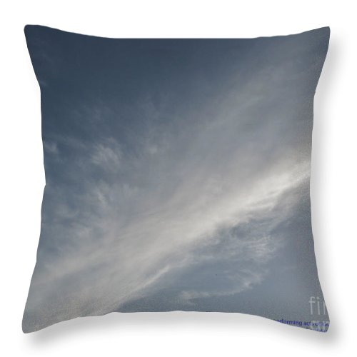 Color Throw Pillow featuring the photograph Karma by Amar Sheow