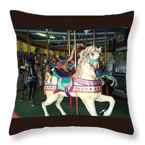 Ken Throw Pillow featuring the photograph Ken by Barbara McDevitt